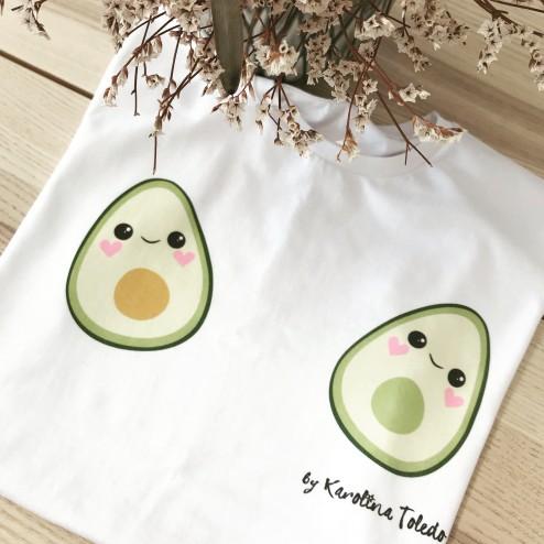 Camiseta Aguacates Imodashop tienda online de mujer