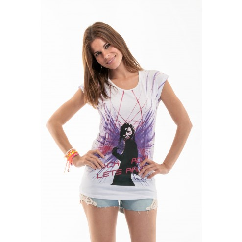 camiseta lets rave de Gio Gio
