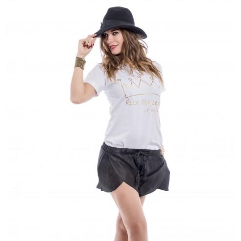 Short negro moda mujer fresquito y cómodo para verano