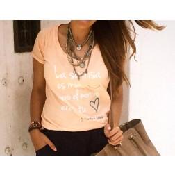 Camiseta La Sonrisa... de Karolina Toledo