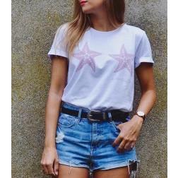 Camiseta Dos Estrellas de Mar de Karolina Toledo