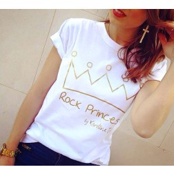 Camiseta Rock Princess
