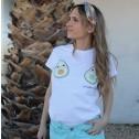 camiseta aguacates moda mujer karolina toledo