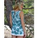 blusa palmeras ichi