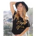 camiseta super girl moda mujer