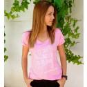 camiseta yo soy la estrella de mi vida en rosa de karolina toledo