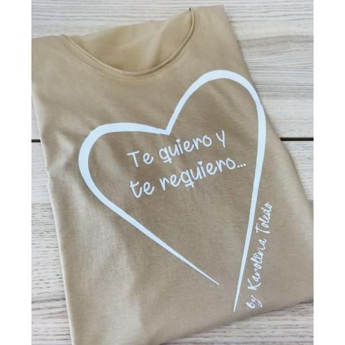 camiseta te quiero y te requiero karolina toledo