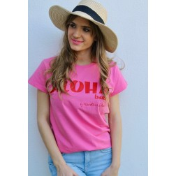 Camiseta Aloha Rosa de Karolina Toledo
