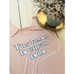 Camiseta Tirantes Tus Besos lo Curan Todo