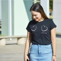Camiseta de moda mujer online