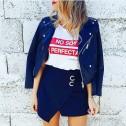 Camiseta blanca de mujer tienda online No soy perfecta
