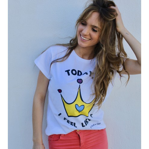 camiseta princess colores karolina toledo