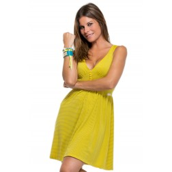 Vestido Amarillo de Gio Goi